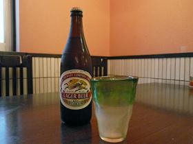 麒麟啤酒 一瓶(500ml)