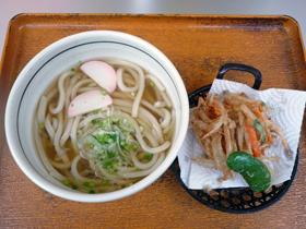 油炸蔬菜+烏龍麵